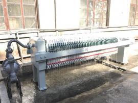 厂家供应30平方压滤机 工厂石灰膏 碳酸钙污水排放处理设备