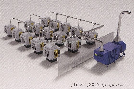 YWJC-MC大型油雾收集器
