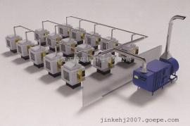 YWJC-MS系列加工中心CNC机床油雾油烟集中收集净化处理系统