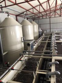 鲈鱼养殖设备 鱼菜共生系统