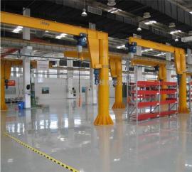 单梁悬臂吊 移动式悬臂吊 车间简易悬臂起重机 1000kg单臂吊