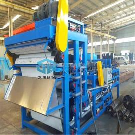 水衡制造砖厂污泥脱水机 带式压滤机