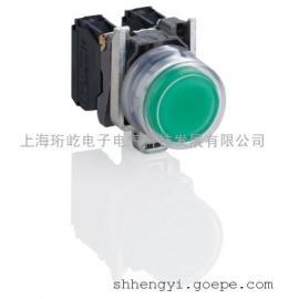 施耐德国产金属按钮指示产品XB2B