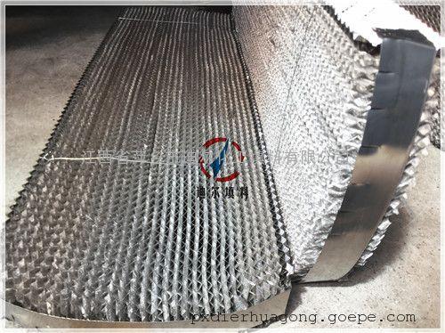 316L双层丝网波纹填料304双层丝网规整填料250Y双层丝网填料