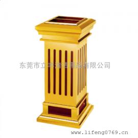LF-H5-A极品钛金果皮箱 豪华型果皮箱 酒店垃圾桶 酒店果皮桶