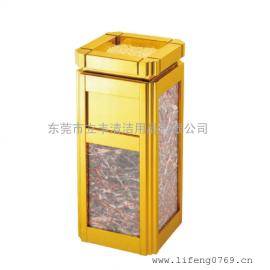 LF-H11-A海棠角果皮箱 不�P�垃圾桶 室�壤�圾桶