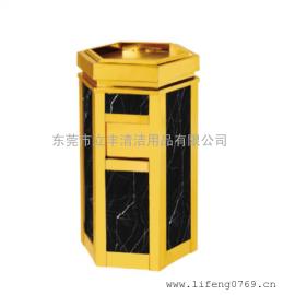 LF-H12菱形云石果皮桶 座式云石果皮箱 垃圾桶 室�壤�圾桶
