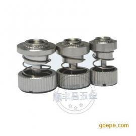 不锈钢松不脱螺钉面板紧固件 弹簧螺丝PFS31-M3-16