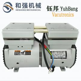 供应钰邦DP-200V活塞式无油抽气泵 高速粒子机成型机吸气泵