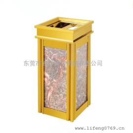 LF-H17菱角果皮箱 �金垃圾桶 �金果皮桶 酒店�金垃圾箱