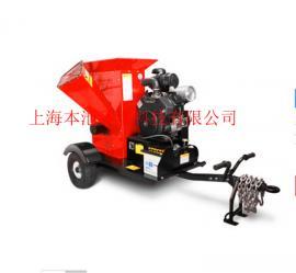 维邦FS1025KL大型汽油发动机粉碎直径10公分树枝园林绿化粉碎机
