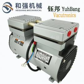 钰邦DP-200H活塞式真空泵代理商 高速粒子成型机载用无油吸气泵