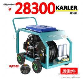 双缸发动机200公斤汽油下水管道疏通机市政环卫高压清洗机物业
