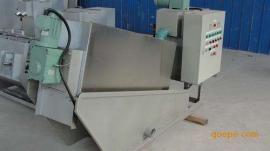 造纸厂污泥处理 不锈钢叠螺式污泥脱水机