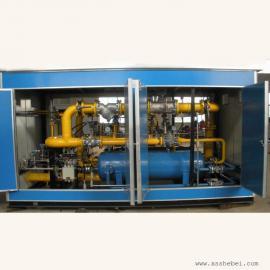 2000乘方CNG调压测算柜-紧缩煤气减压撬