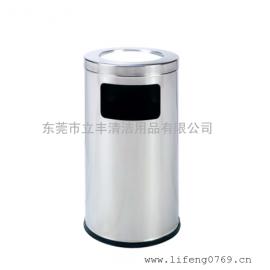 LF-B35-N澳式果皮箱 不锈钢平盖垃圾桶 不锈钢凹盖垃圾箱