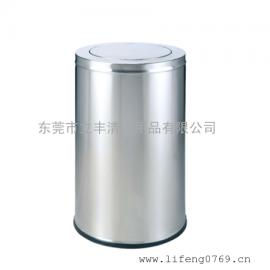 LF-B35-P翻盖垃圾桶 不锈钢翻盖垃圾桶