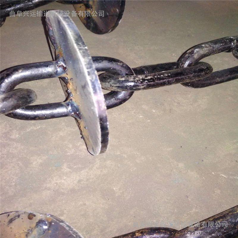 碳钢盘片耐高温上料机 沙子管链提升机