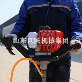 巨匠供应便携式取芯钻机 小型背包式岩心钻机单人可背负式