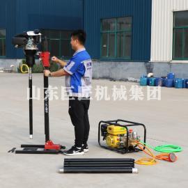 BXZ-2L型立式背包钻机 便携式山地勘察轻便取样钻机体积小重量轻