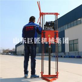 QZ-2B型野外地质勘探钻机 轻便汽油动力多功能取样钻机