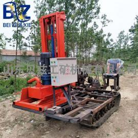 履带式水井钻机 农田灌溉电动打井机 180米打井机械设备