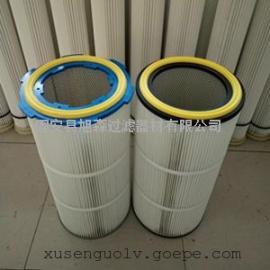 旭森生产32100鼓风机除尘滤筒_制氧机除尘滤芯生产厂家
