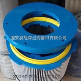 喷涂喷塑粉末回收滤芯 350*660现货供应六耳卡盘快拆式除尘滤筒