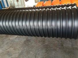 HDPE钢带螺旋增强波纹管,排水排污管