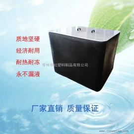 厂家直销带框架1000L吨桶大敞口方形塑料桶滚塑吨桶