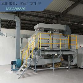 喷漆房rco催化燃烧环保废气处理设备印刷厂工业活性炭吸附