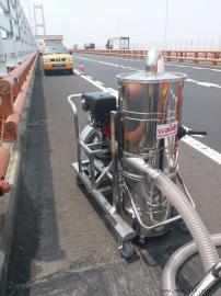 威德尔汽油机工业吸尘器室外施工吸灰尘石子专用QY-75J