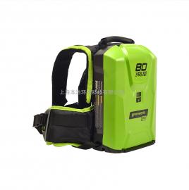 格力博greenwork背包电池大容量80V背负式充电电池80V机器通用