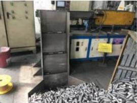 力泰定制中频炉全自动上料机 金属圆棒料送料机设备
