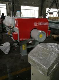 供应100平方全自动隔膜压滤机隔膜压榨机吹气鼓膜二次压榨