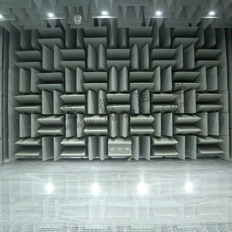 厂家专业定制 为某机电质检院设计建造消声室,最低达到-1分贝