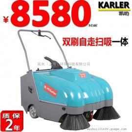 工业手推式扫地机KL800学校广场小吃街道低碳环保电动清扫车