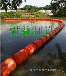 水上警戒隔�x浮漂,江面警示塑料浮漂 湖泊�r污塑料浮漂