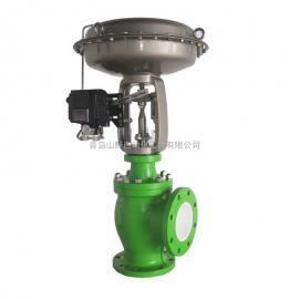 气动陶瓷控制阀/陶瓷阀/陶瓷调节阀/气动角阀