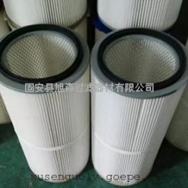 不锈钢防腐防锈除尘滤芯_高效PET覆膜除尘滤芯