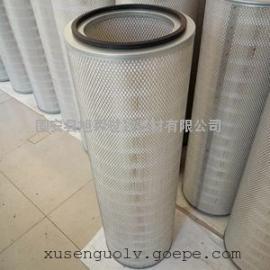 钢铁厂320*220*1000mm 专用除尘滤筒空气滤芯