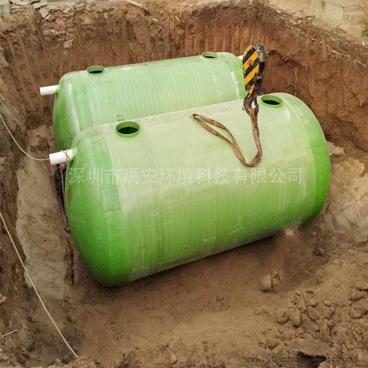 300吨高中学校生活污水处理一体化设备YASH-300T碳钢