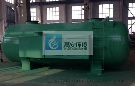 50吨农村污水一体化污水处理设备县乡镇生活污水治理设备