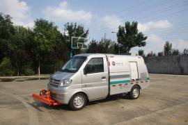同辉汽车东风底盘小型高压清洗车QTH5021GQX