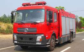 厂区应急消防车装水6吨到7吨的水罐消防车有哪些车型可选?