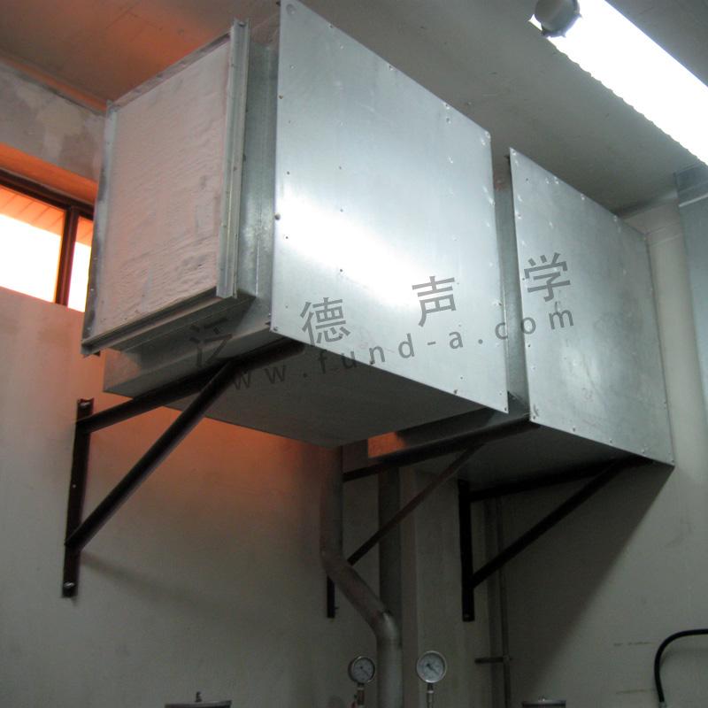 罗兹风机降噪 为好丽友食品(中国)公司进行噪声治理