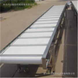 白色PVC食品级皮带传送机生产厂家