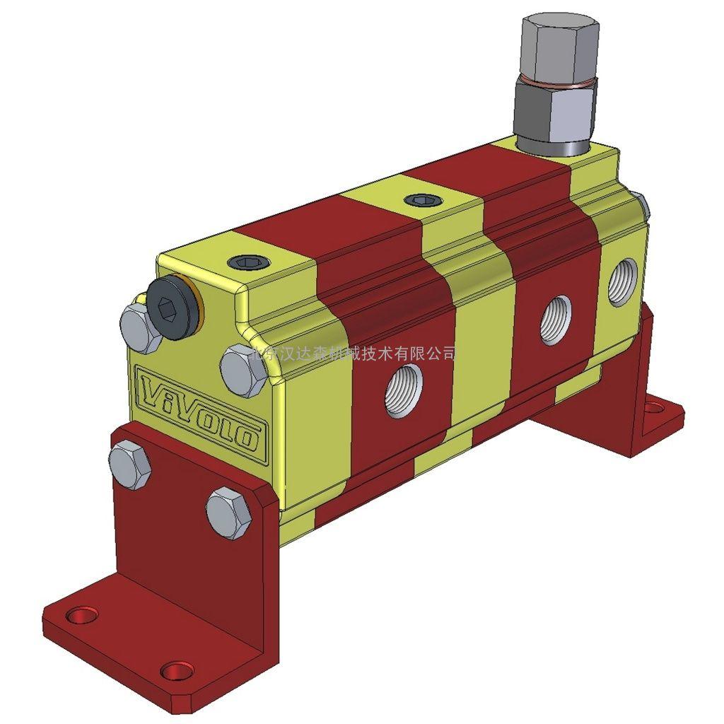 意大利VIVOLO 9RS带单相校正阀的流量分配器