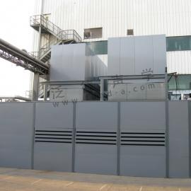 冷却塔噪声治理 为雀巢公司冷却塔和水泵做噪音处理工程