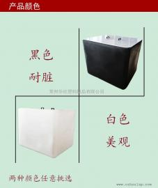 1000L滚塑一次成IBC集装桶敞口吨桶包装桶口径可定制